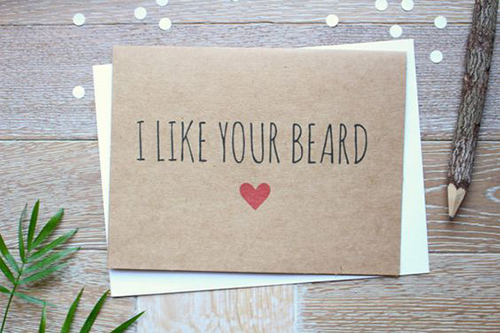 i like your beard