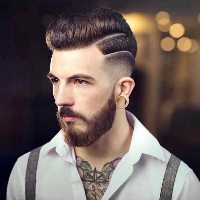 Barbershop haircut styles for black men